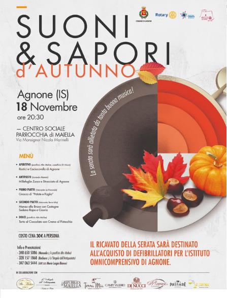 Suoni  & Sapori d'autunno