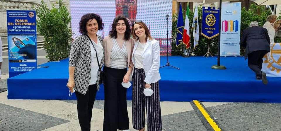 Agnone, Giorgia Petitti terza al concorso Legalità e cultura dell'Etica