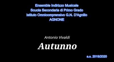 Scuola media indirizzo musicale a.s.2019/2020
